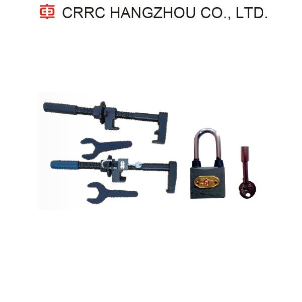 Hook lock device railway CRRC