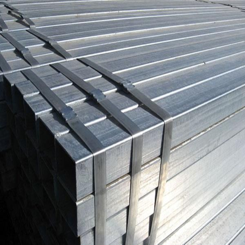 hollow hot dipped galvanized carbon steel rectangular tube/square tube pipe