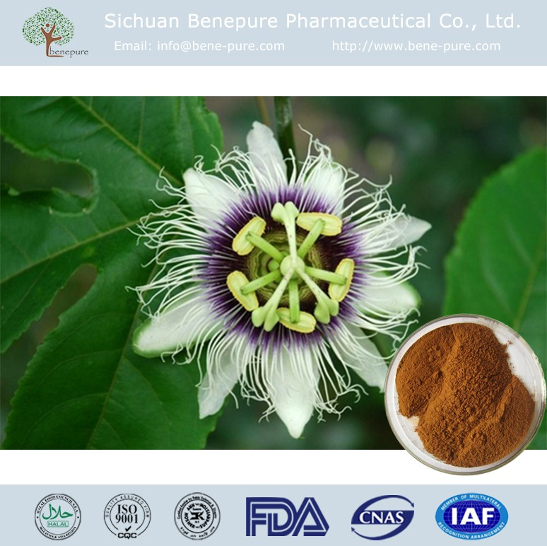 CAS 574-12-9,Total Flavones 4%, 8%,20% UV,Passion Flower Extract ,BENEPURE