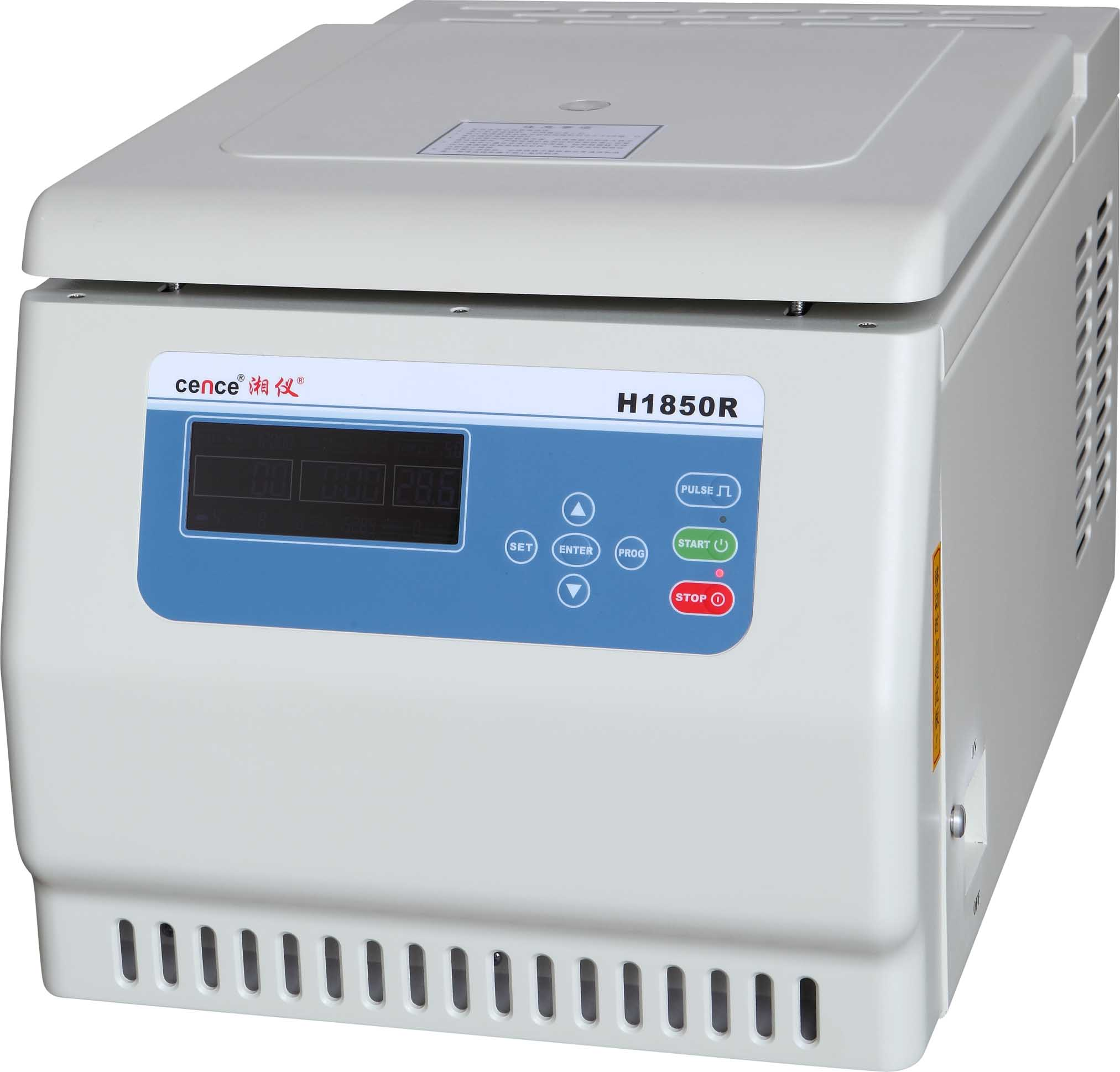 H1850R Tabletop High Speed Refrigerated Centrifuge