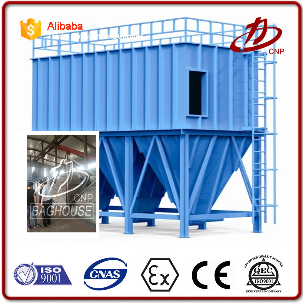 Dust cleaner for cement production line