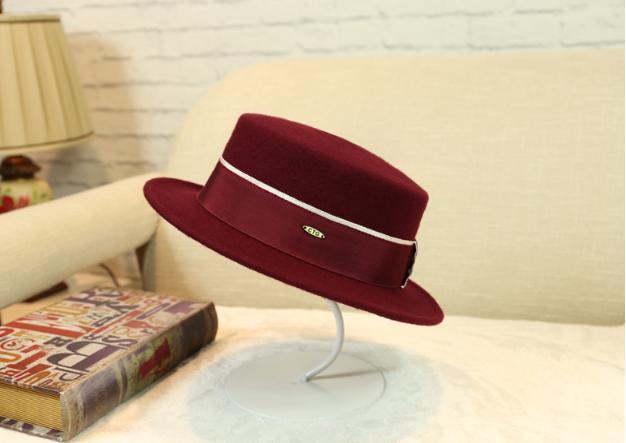 Wool Felt Bucket Hat Women