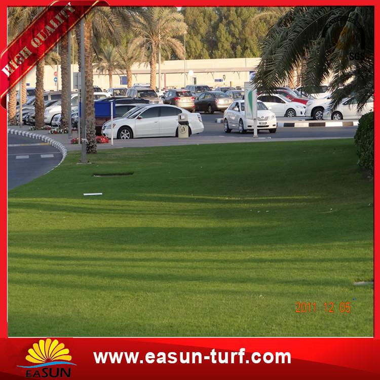 Super qualitysyntheticgrassturf 40mm landscaping artificial grass for garden-Donut