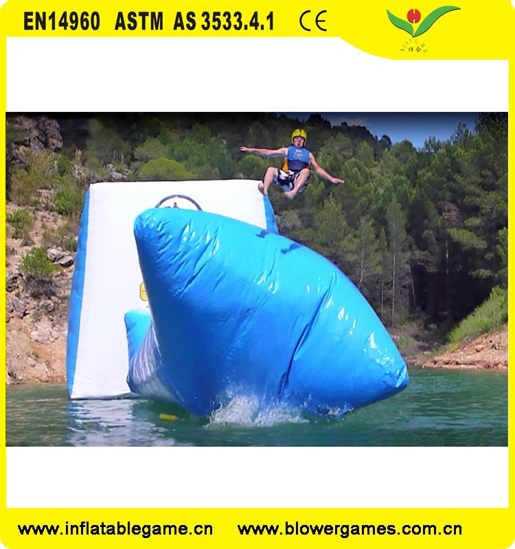 Amazing Water Game Equipment Water Trampoline Inflatable Water jumping Pillow