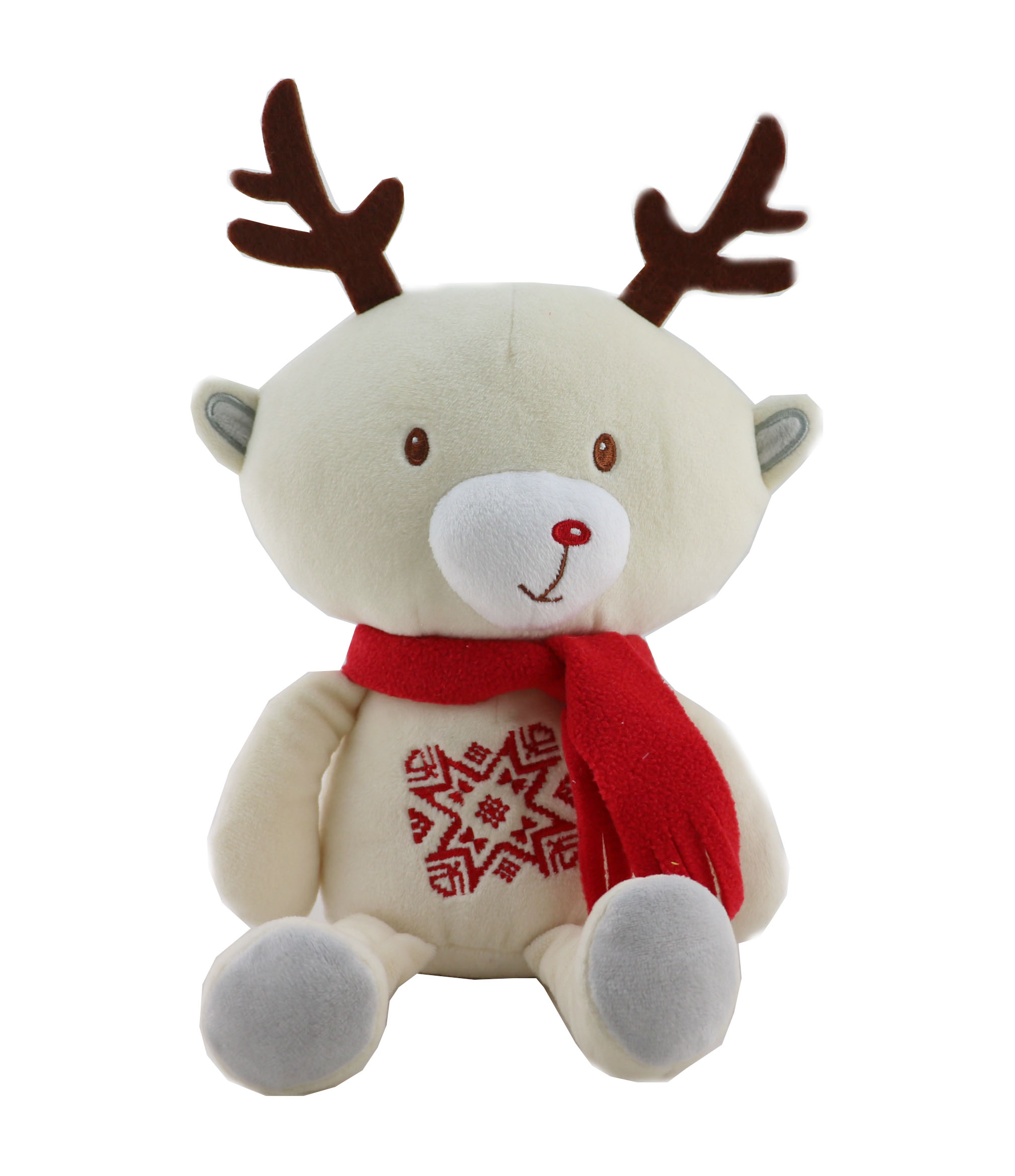 2017 New Design Christmas Moose Plush Toy for Kids