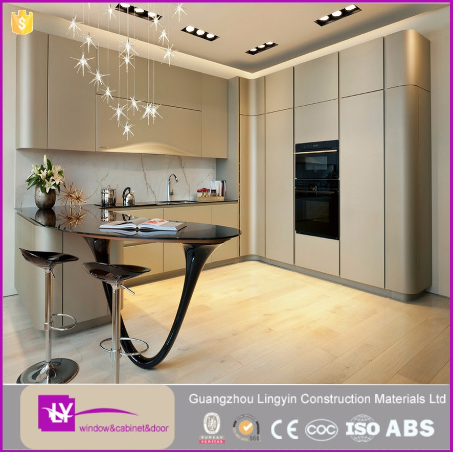 15 years manufacturer experience Factory direct sale lacquer kitchen cabinets