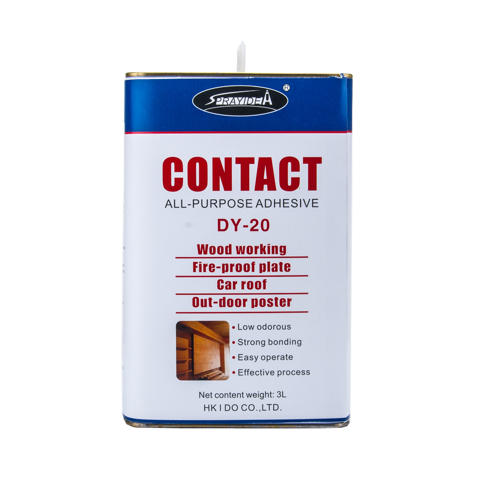 Super bonding neoprene contact adhesives for woodworking