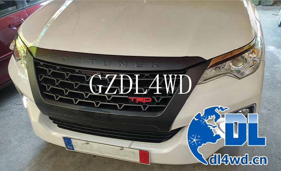 auto front grille TRD for toyota fortuner 2016 accessories