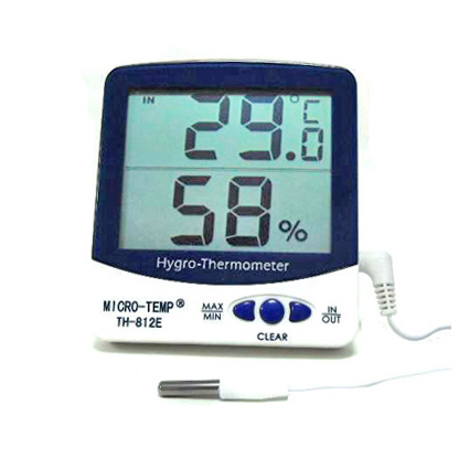Indoor Outdoor Thermo-hygrometer TH-812E