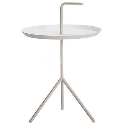 Household Essentials Metalworks Iron Tray Round Coffee Tea Table For Home Decor Mini Furniture
