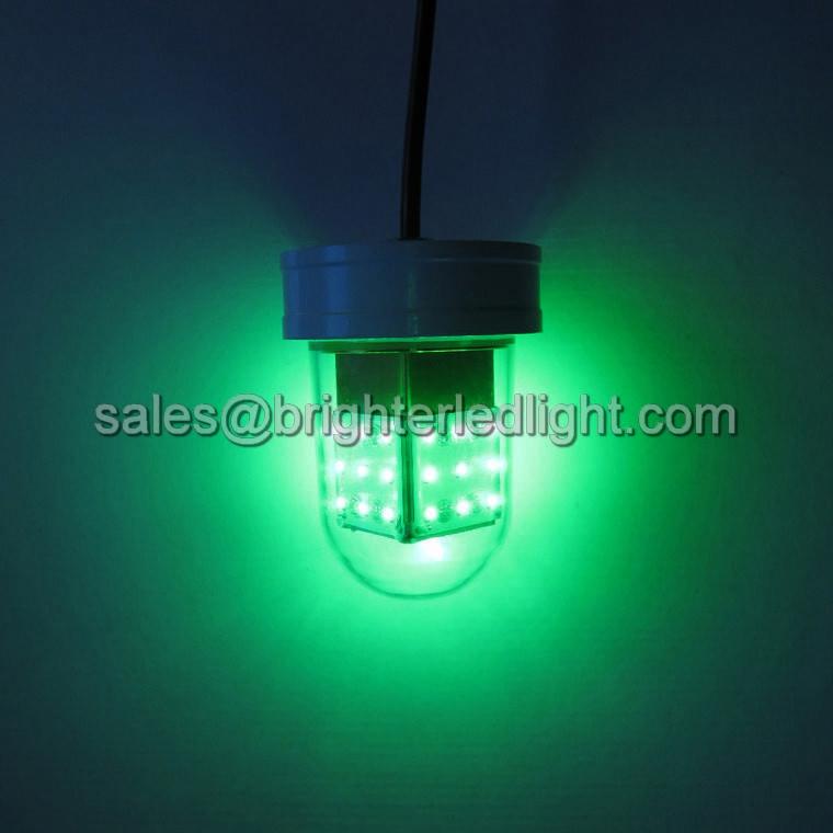 12v underwater green led fishing light brighter industry for Green led fishing lights