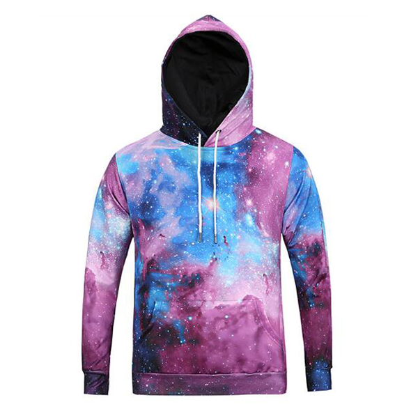 small order accept Custom Wholesale Sublimation Pullover Colorful Basic style