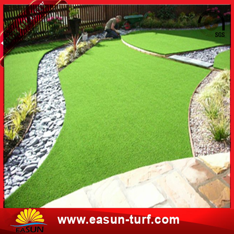 35mm Thick Fake Lawn Turf Green Decoration Artificial Grass Landscaping-Donut
