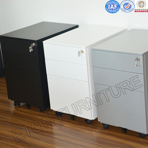 Hot Sales Office 3 Drawer Metal Mobile Pedestal Cabinet Base Cabinet