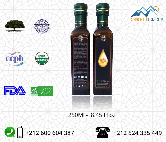 Organic Argan oil wholesale