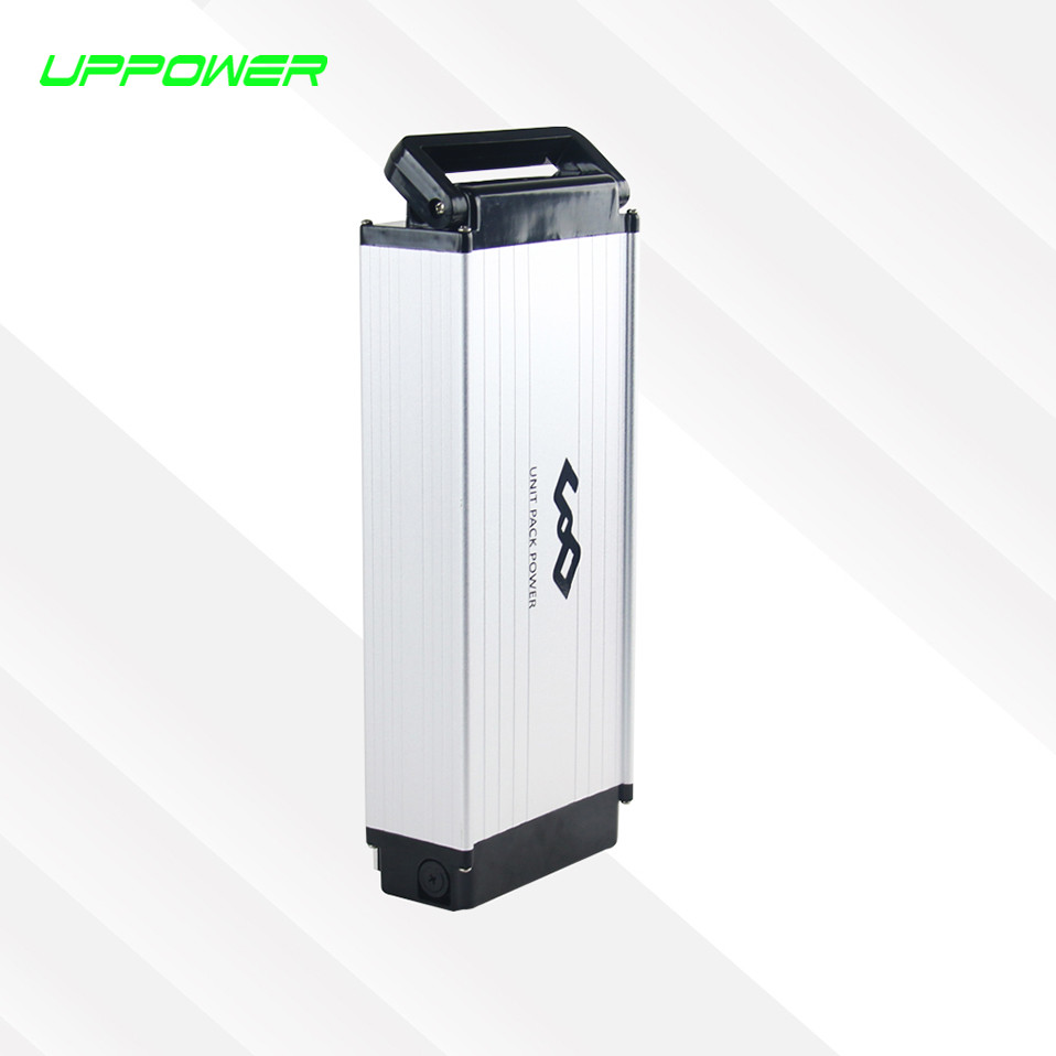 High quality rear rack 48v rechargeable lithium battery 48v 12Ah ebike li-ion battery for electric b