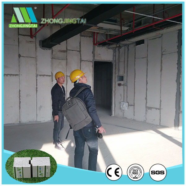 green material EPS cement sandwich panel for sip house