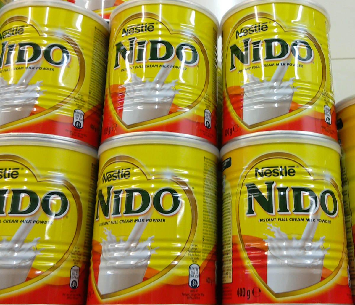 NIDO NESTLE SUPPLIERS