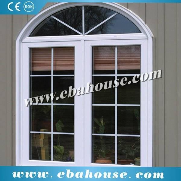 Aluminum double glazing window grill design foshan for Nigeria window design