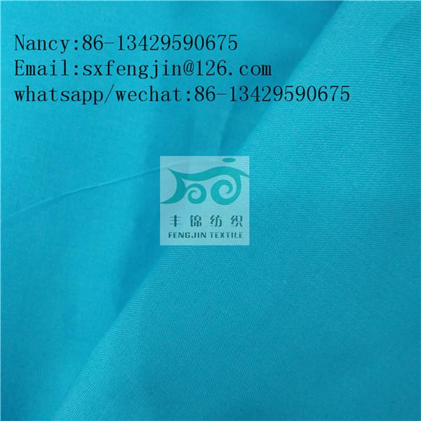 polyester/cotton poplin fabric 45x45 133x94 shirt fabric,hot selling