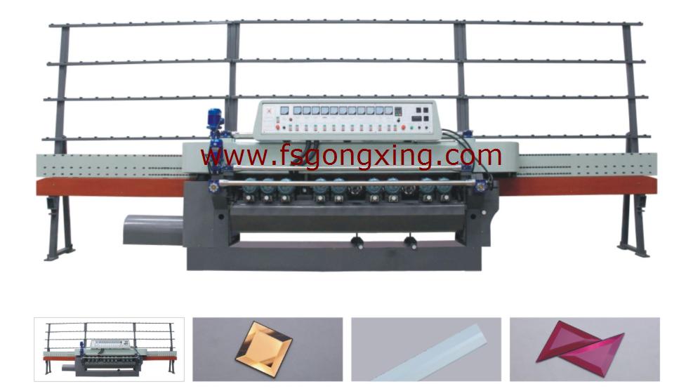 Model GXM11A / GXM11B / GXM12A / GXM12B Glass Bevelling Machine