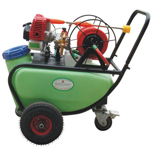 Professional insecticide pump sprayer battery operated sprayer with wheels