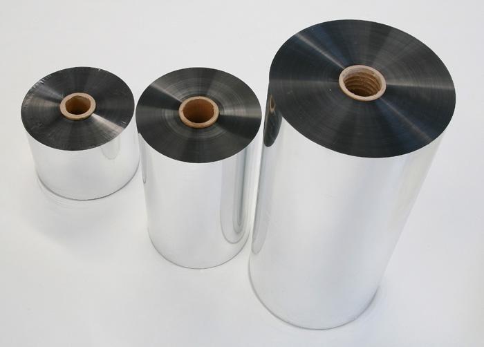 Charming Pattern Food Packing Flexible Alu PET Metallized Film