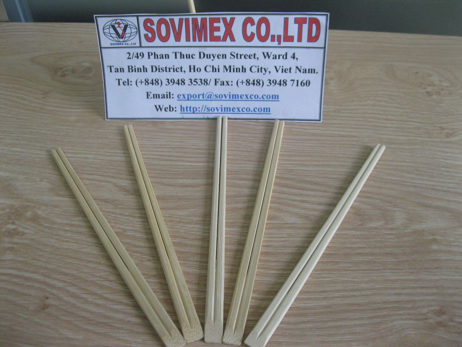 Bamboo Twin Chopsticks