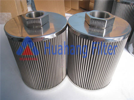Hydraulic suction oil filter for coconut oil