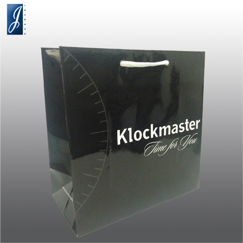 Customized small promotional bag for CLOCK MASTER