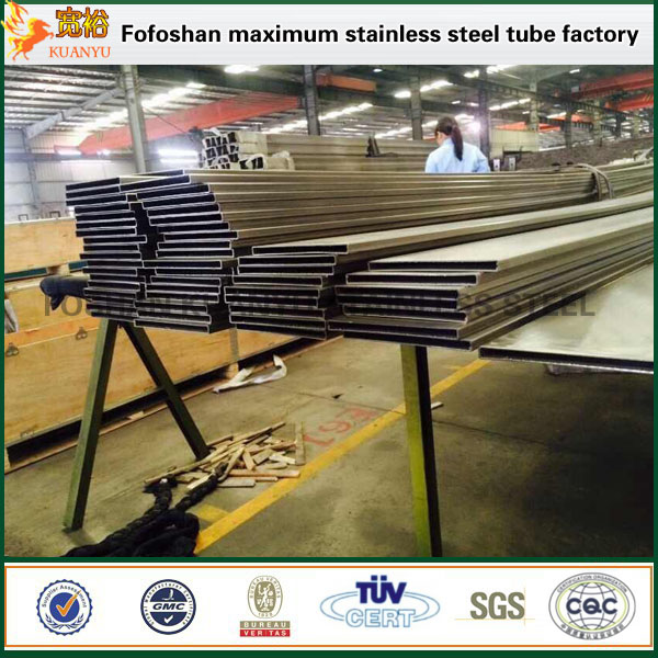 aisi 316 stainless steel rectangular pipe