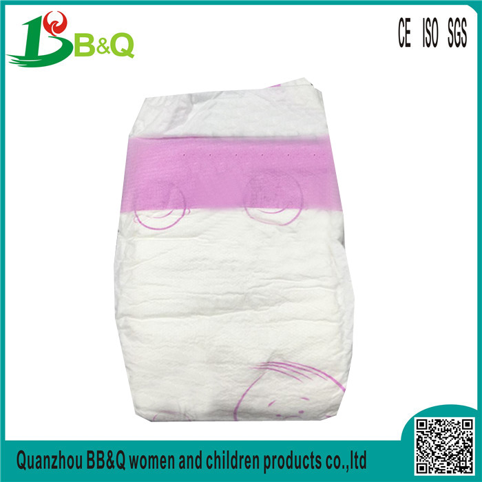 Ultra thin low price colored disposable baby diapers