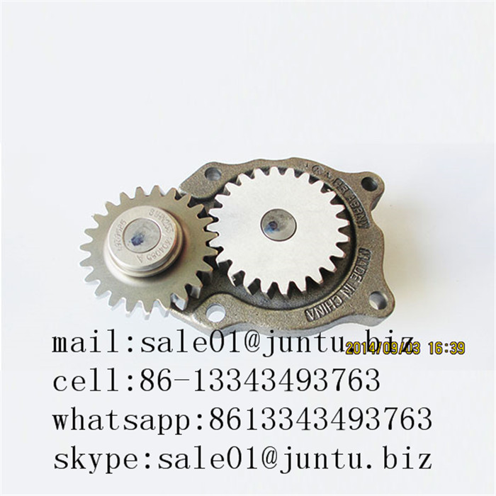 dongfeng truck parts 4BT diesel engine oil pump 4939585