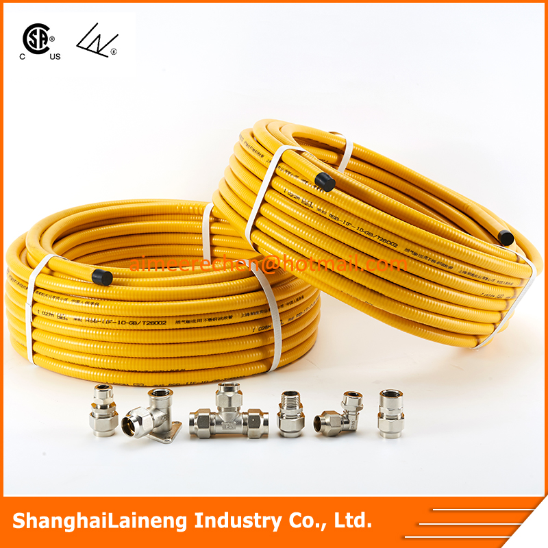 flexible stainless steel gas hose
