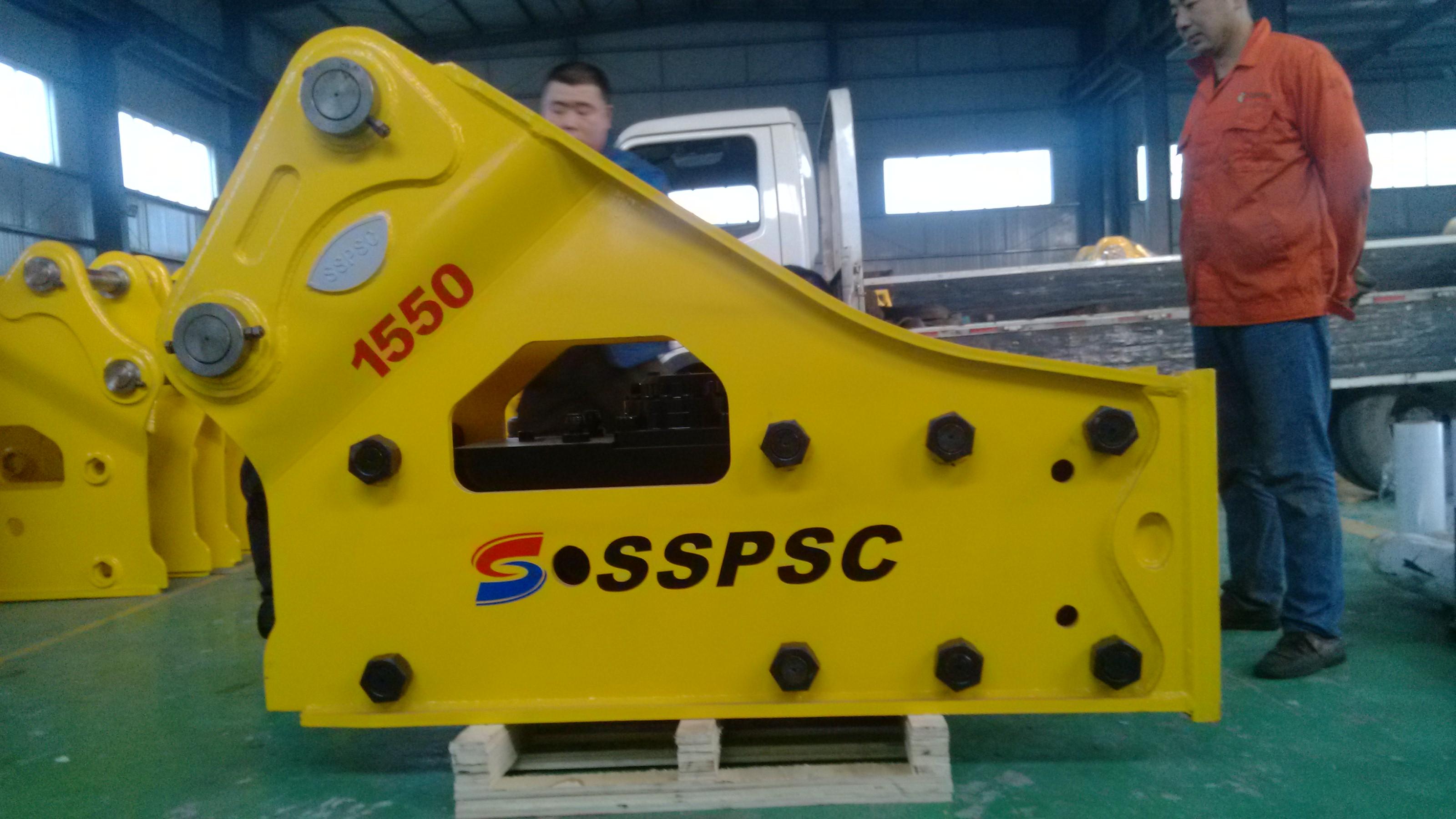 SB121 155MM chisel side type Hydraulic Rock Breaker Hammer
