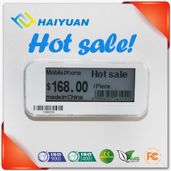 Supermarket RF 433MHz Electronic shelf label