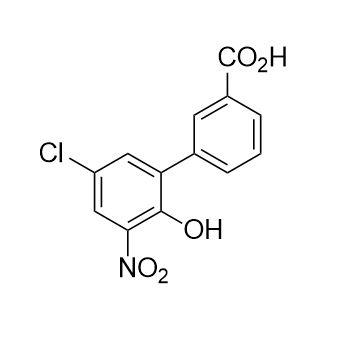 5'-chloro-2'-hydroxy-3'-nitro-[1,1'-Biphenyl]-3-carboxylic acid (CAS NO.:376592-58-4)