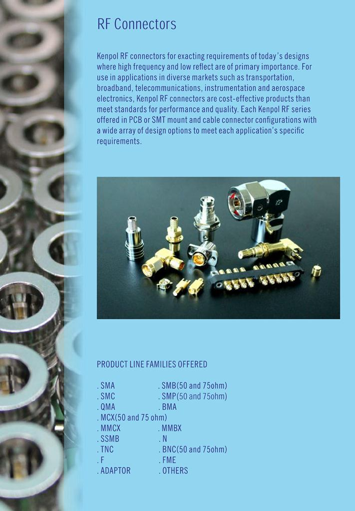 Kenpol introduction for RF-connector.