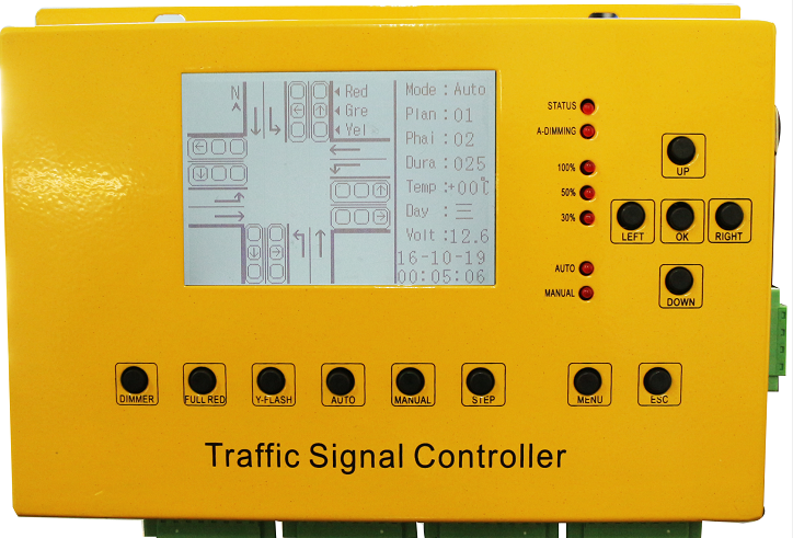 SW-XHJ Type 24 Output Solar Traffic Signal Controller