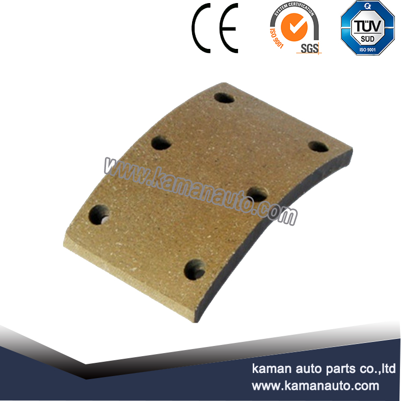 China best selling high performance top quality ceramic brake lining