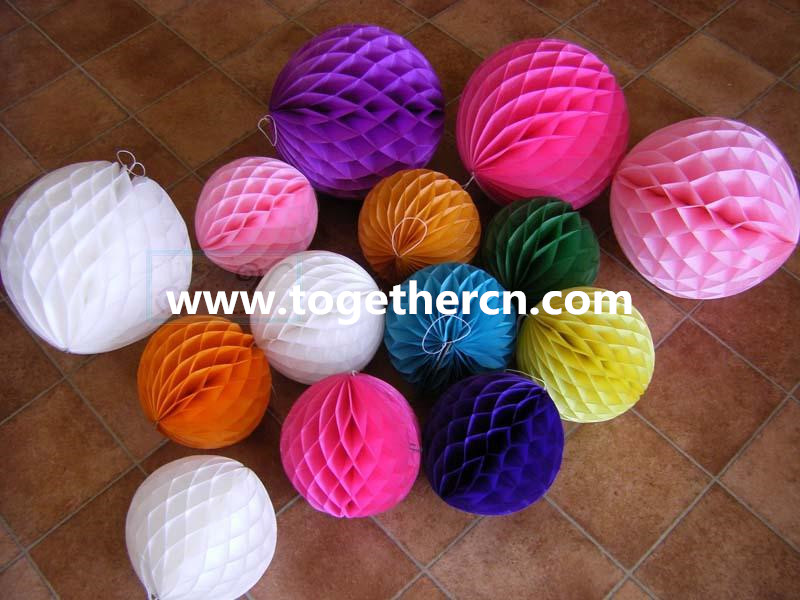 wholesale paper ball for Christmas decoration