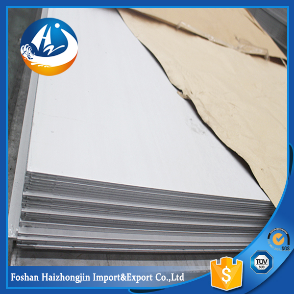 ASTM A167 304 No.1 stainless steel plate china manufacture