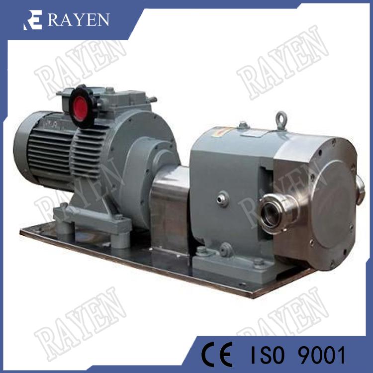 Stainless steel chocolate honey lobe pump rotor pump