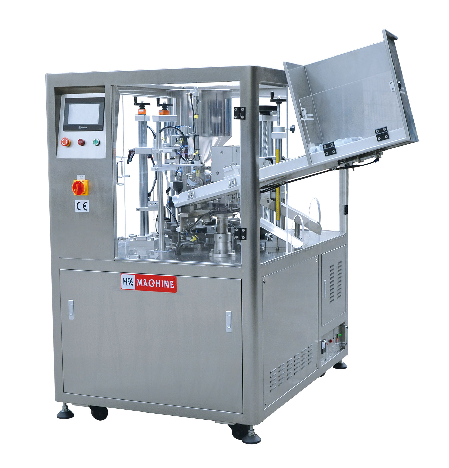 Fully Automatic Ultrasonic Tube Filling and Sealing Machine