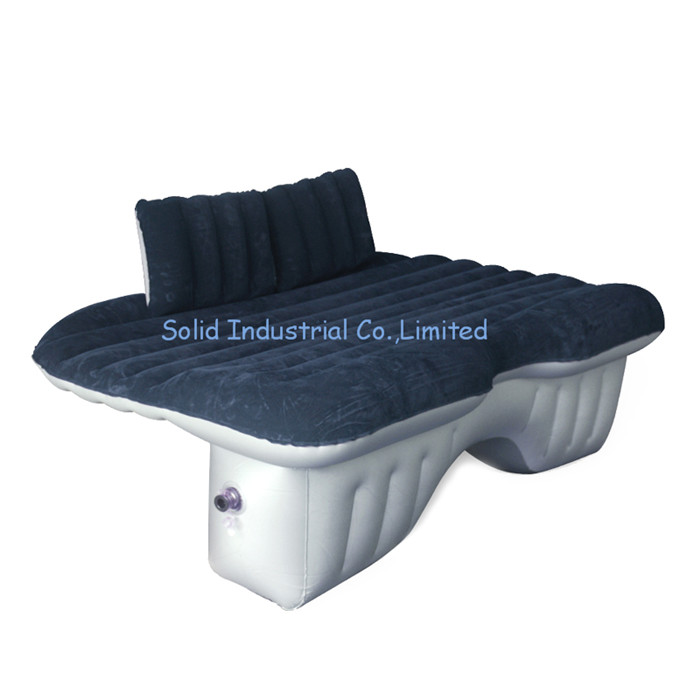 Inflatable Airbed Designed Use for Interior of Automobile