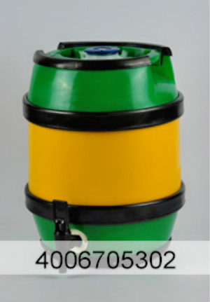 5-25L B type circle plastic beer barrel for sale