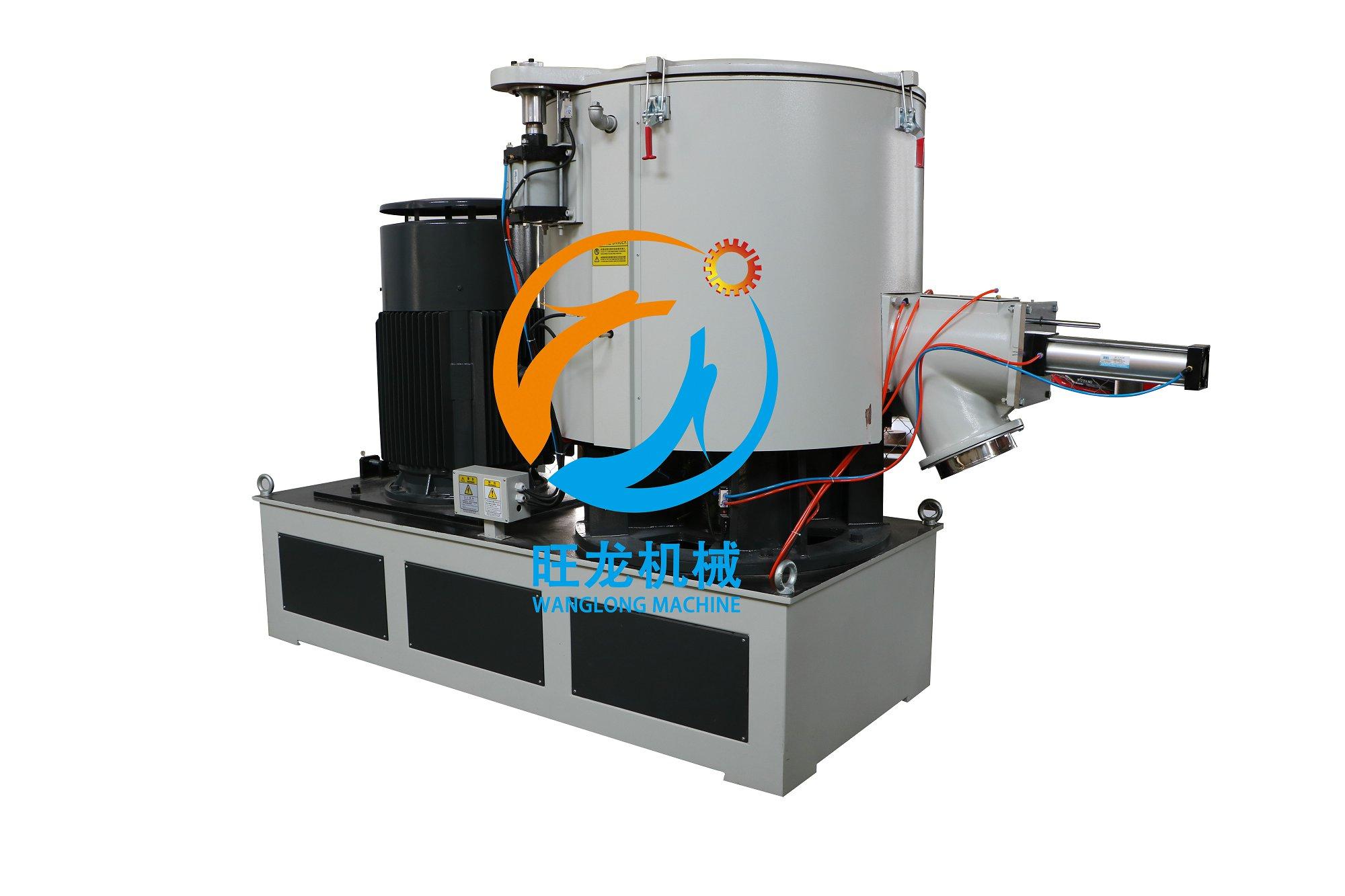 800L PVC Plastic Powder Vertical Mixer/High Speed PVC Plastic Mixing Unit