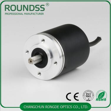 8mm solid shaft 15 bits absolute encoder
