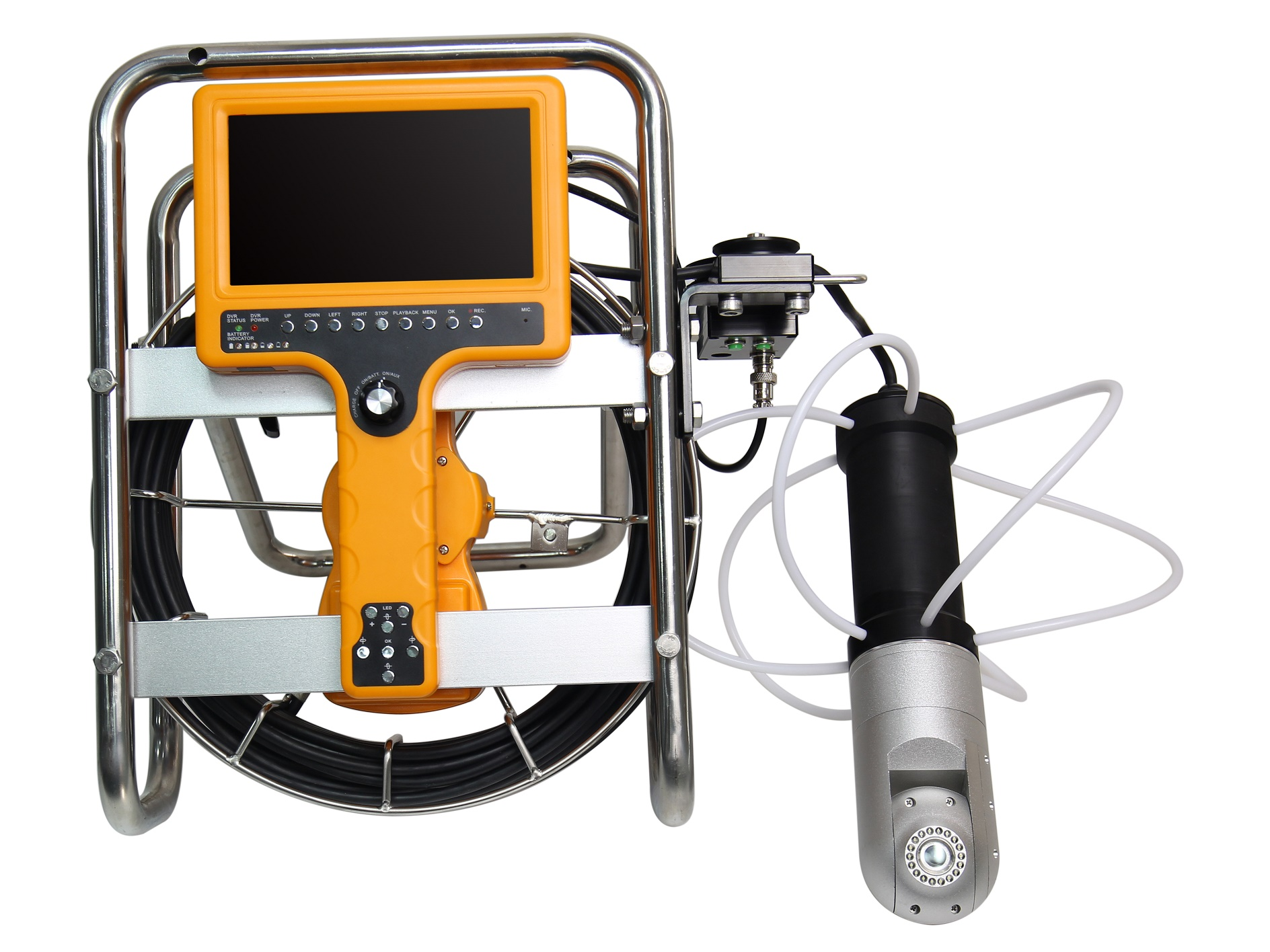 WOPSON Drain pipe chimney inspection camera with 360 degree camera