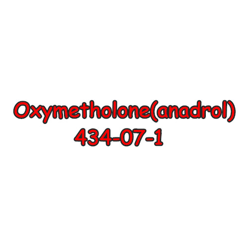 99% Quality Anabolic Oxymetholone CAS 434-07-1 Oral Bodybuilding Steroid Raw